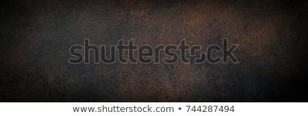 баннер ржавые латунь стимпанк передач шаблон Сток-фото © blackmoon979