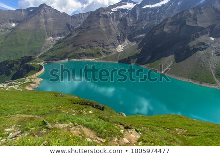 cascade · alpes · photos · arbres · montagnes · eau - photo stock © karin59