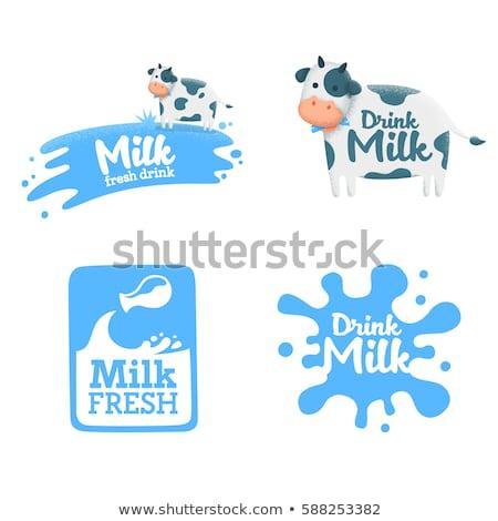 leite · fazenda · produtos · laticínio · aves · domésticas · manteiga - foto stock © leo_edition
