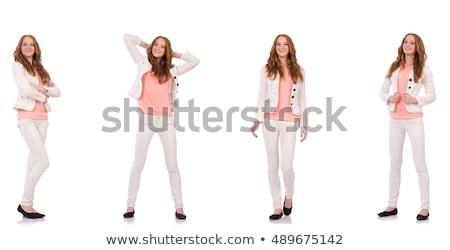 Nice женщину моде одежду изображение Сток-фото © Elnur