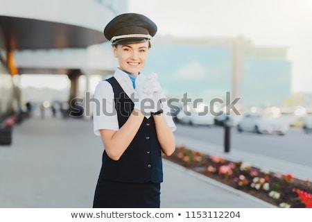 Vlucht glimlachend man reizen leuk kleur Stockfoto © IS2