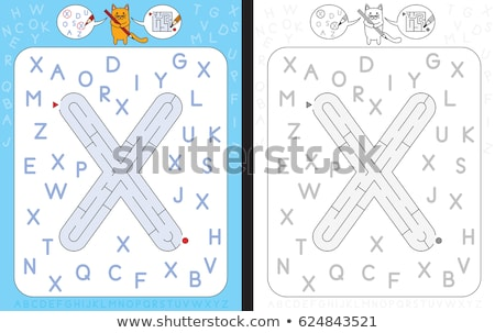 Capital letter X Stock photo © carenas1
