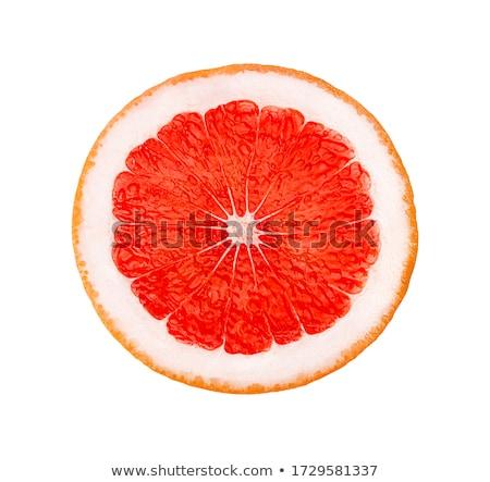 érett izolált fehér levél piros eszik Stock fotó © tehcheesiong