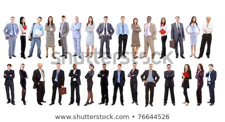 Business people standing in line Stock photo © IS2