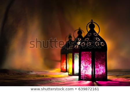 hanging lanterns with text space for ramadan kareem festival Stock photo © SArts