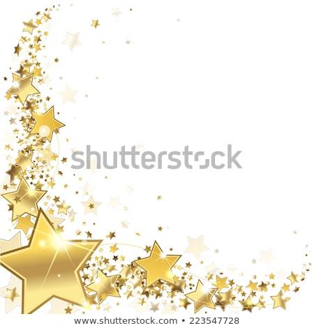 вектора магия звездой кадр изолированный белый Сток-фото © dashadima