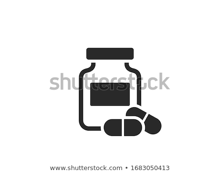 Medical Bottle Vector Icon Stock photo © smoki