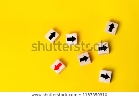 Stock photo: Divergent Arrows