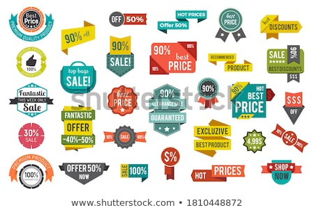 special promotion discount offer 50 percent lower stock photo © robuart