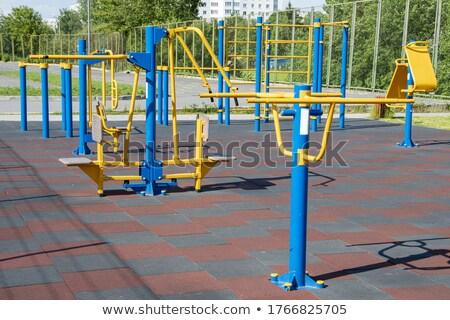Sportok néhány sorok kortárs rácsok testmozgás Stock fotó © pressmaster