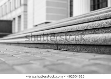 Close-up view of marble columns Stock photo © vapi