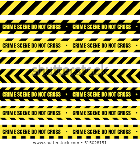 иллюстрация место совершения преступления человека полиции силуэта смешные Сток-фото © adrenalina
