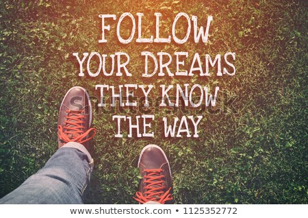 Create Your Future Inspirational Quote Stock photo © ivelin