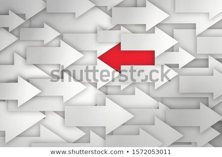 Be Different And Innovate Arrows Concept Stock photo © ivelin
