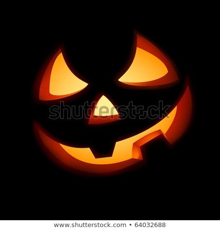 Halloween jack o lantern pumpkin. EPS 8 Stock photo © beholdereye