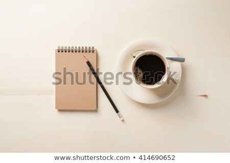 Cup of Tea and Journal Stock photo © frannyanne