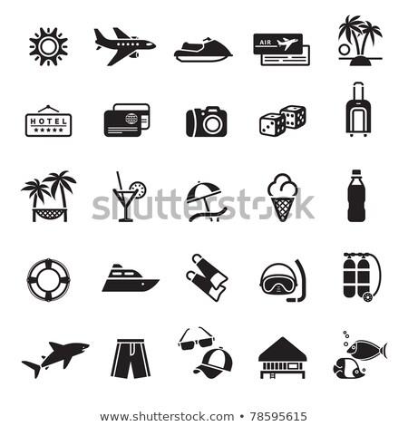 Signos turismo viaje deportes primero establecer Foto stock © Ecelop