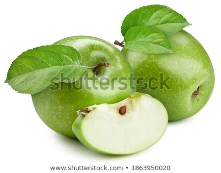 Green apples in the garden. stock photo © christina_yakovl