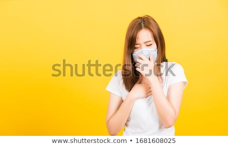 sick chinese woman stock photo © cardmaverick2