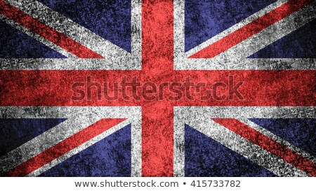 Industry and flag of Great Britain Stock photo © rbiedermann