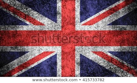 industrie · vlag · groot-brittannië · landschap · technologie · stedelijke - stockfoto © rbiedermann