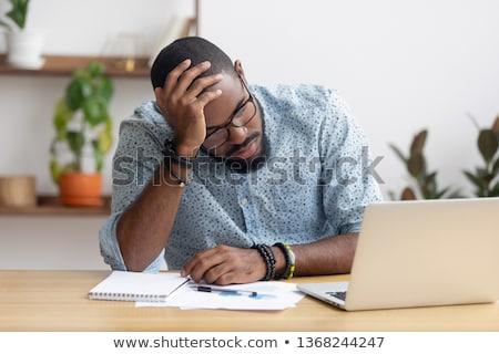 businessman computer problems Stock photo © smithore