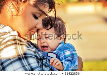 mother spending time with her children Stock photo © photography33
