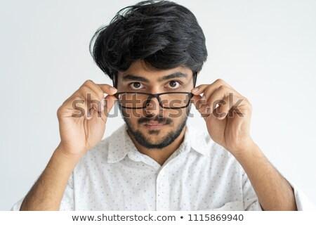 Empresário óculos trabalho gerente Foto stock © photography33