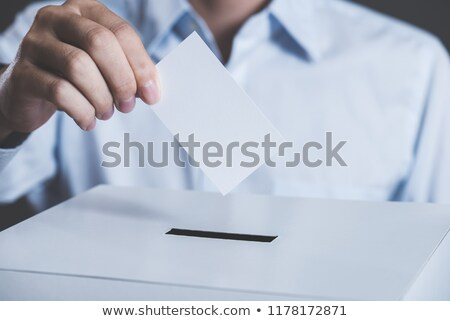 Stock photo: Vote Poll Ballot Box For Japan Japanese Elections