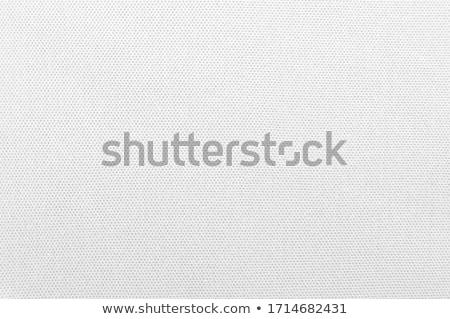 close up of white silk textured cloth background stock photo © ozaiachin