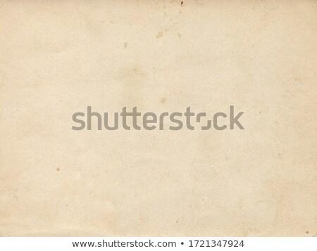 old yellow paper stock photo © olgadrozd