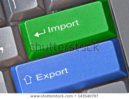 számítógép · billentyűzet · zöld · kulcs · mentés · közelkép · egér - stock fotó © maxmitzu