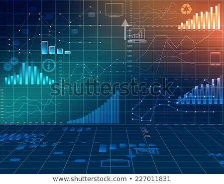 moving up percentage graph	 Stock photo © 4designersart