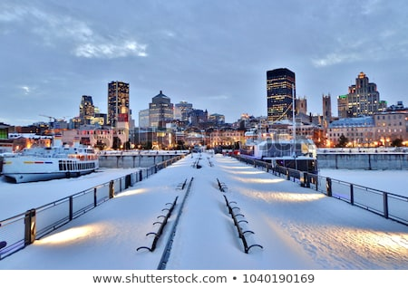 Montreal in winter Stock photo © Talanis