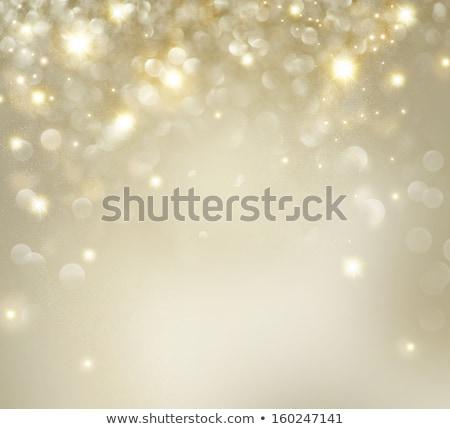 2014 christmas kolorowy oszałamiający gry światła Zdjęcia stock © DavidArts