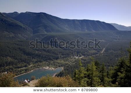 Rattlesnake Ledge and Lake, North Bend, Washington Stock photo © billperry