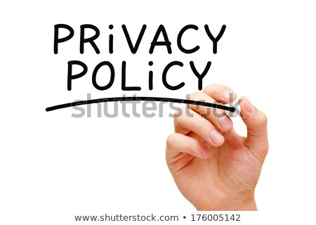 Privacy Policy Black Marker Stock photo © ivelin