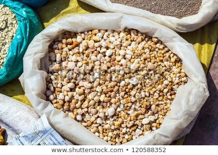 olibanum for sale on the outdoor market Stock photo © meinzahn