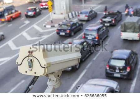トラフィック サーベイランス カメラ 通り テレビ 技術 ストックフォト © andromeda