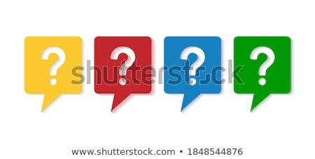 consulting on multicolor puzzle stock photo © tashatuvango