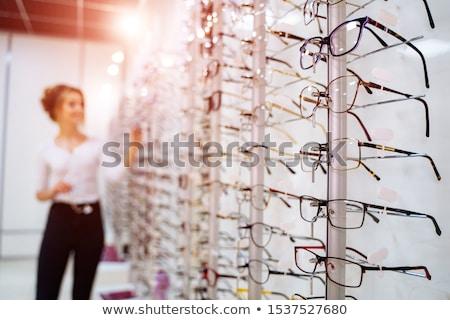 Opticien Stock photo © Hofmeester