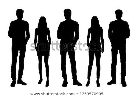 Shadow of people Stock photo © devon