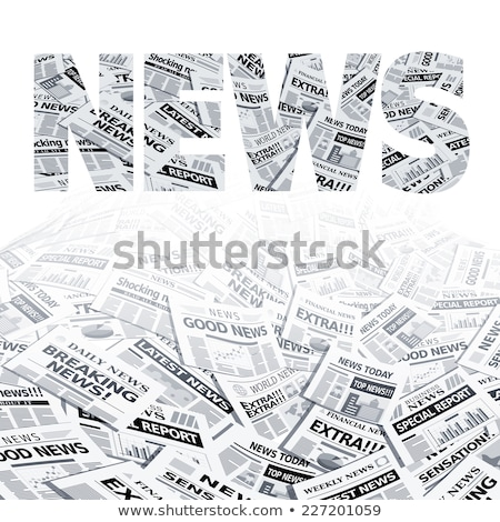 stack of newspapers used stock photo © philipimage