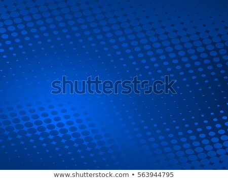 Blue Business Graphic with fading Circles Stock photo © PokerMan