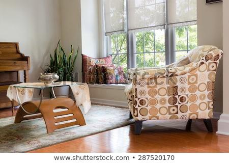 modern architectural home den guest room design stock photo © ozgur