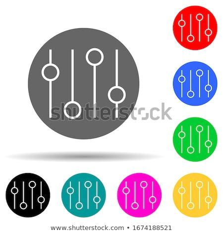 Stockfoto: House Equipments Violet Vector Button Icon Design Set