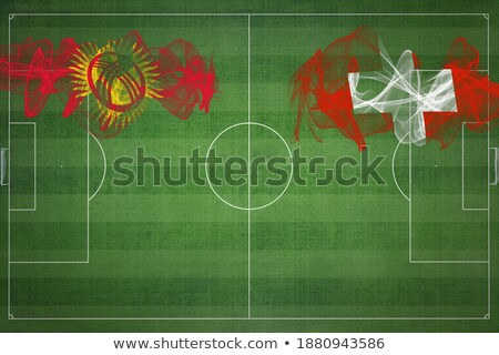 Switzerland and Kyrgyzstan Flags Stock photo © Istanbul2009
