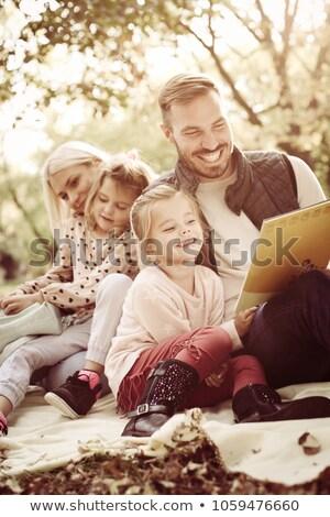 jeunes · cute · garçon · accent · famille · caméra - photo stock © paha_l