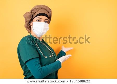 Medical doctor welcoming Stock photo © HASLOO