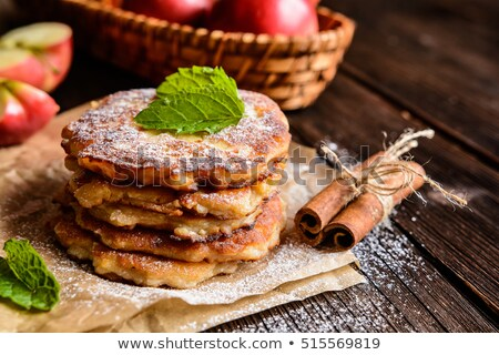 kunyhó · palacsinták · tányér · sült · stock · fotó - stock fotó © digifoodstock